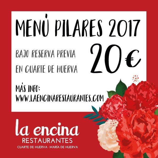 Menú Pilares 2017