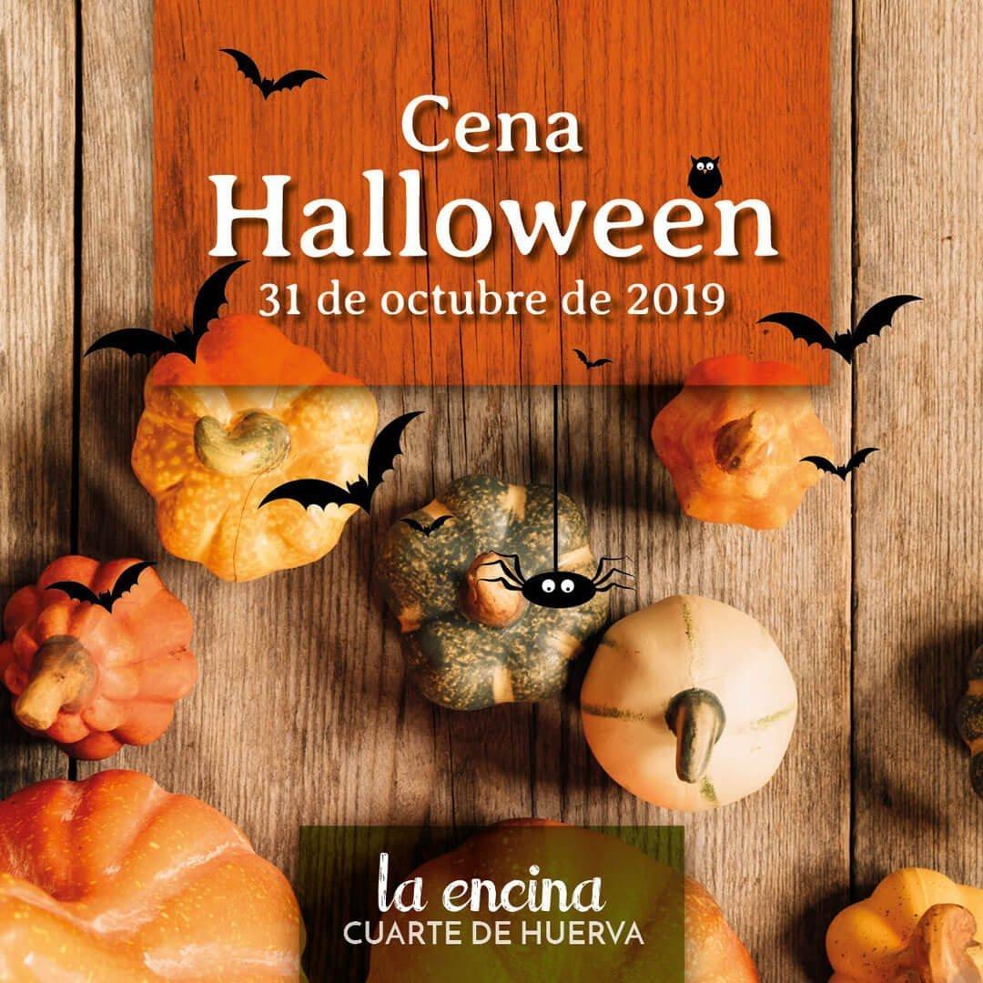 Cena especial Halloween 2019 en La Encina Restaurantes